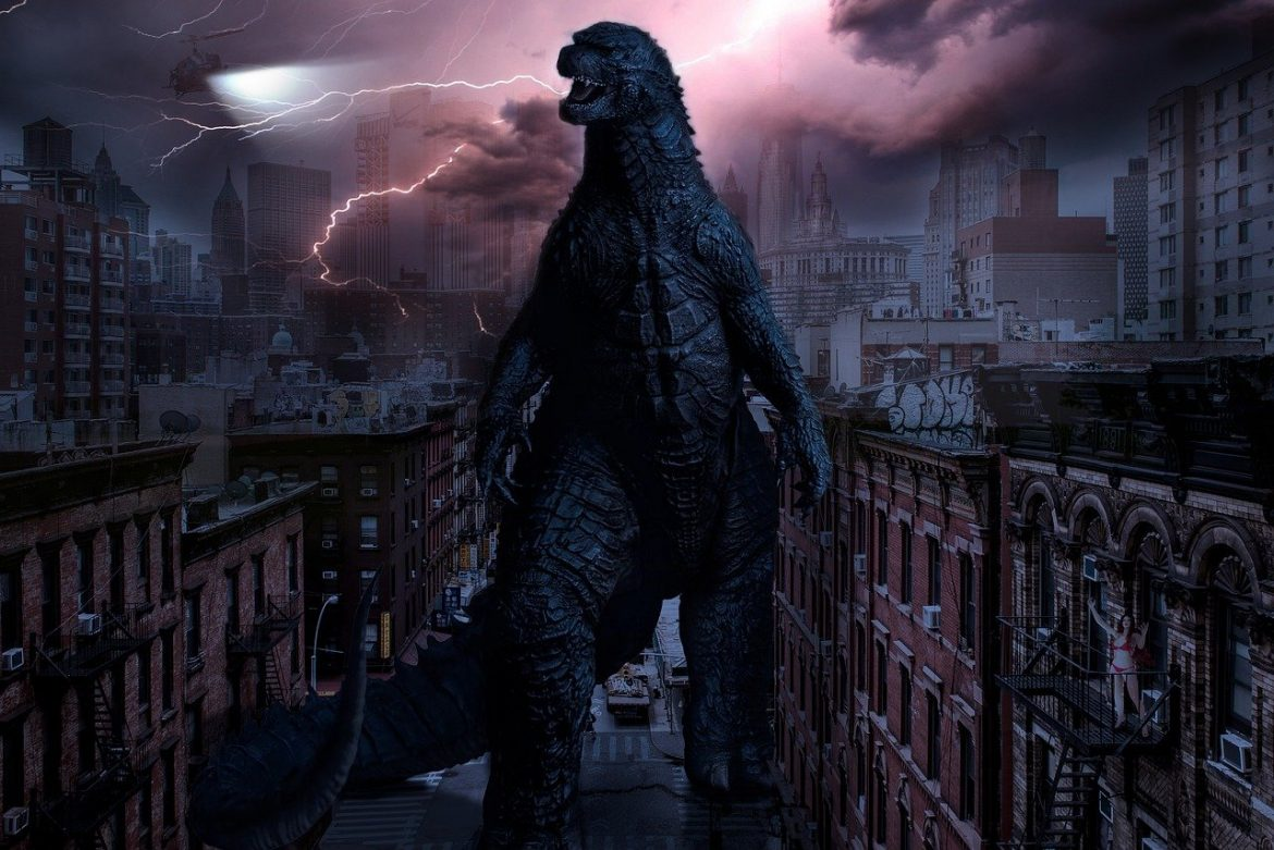 The 'Godzilla vs. Kong' battle you've been waiting for even has 'Die Hard' inspiration